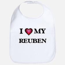 I love Reuben Baby Bib