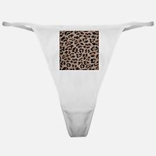 cheetah leopard print Classic Thong