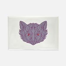 Fox Head Mono Line Magnets