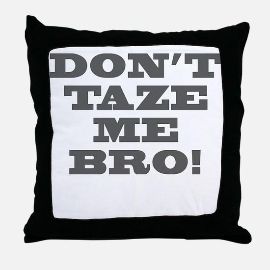 TAZER Throw Pillow