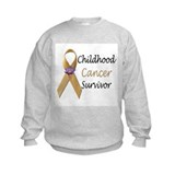 Children cancer survivors Crew Neck