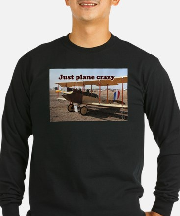 Just plane crazy: Curtiss Jenn Long Sleeve T-Shirt