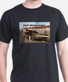 Just plane crazy: Curtiss Jenny Biplane Ai T-Shirt