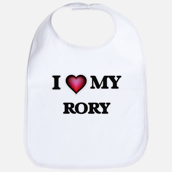 I love Rory Baby Bib