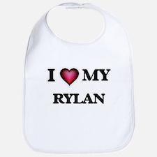 I love Rylan Baby Bib