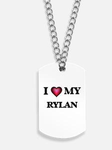 I love Rylan Dog Tags