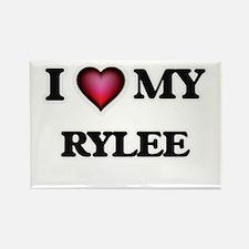 I love Rylee Magnets