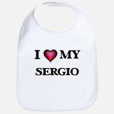 I love Sergio Baby Bib