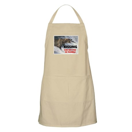 KISSING BBQ Apron