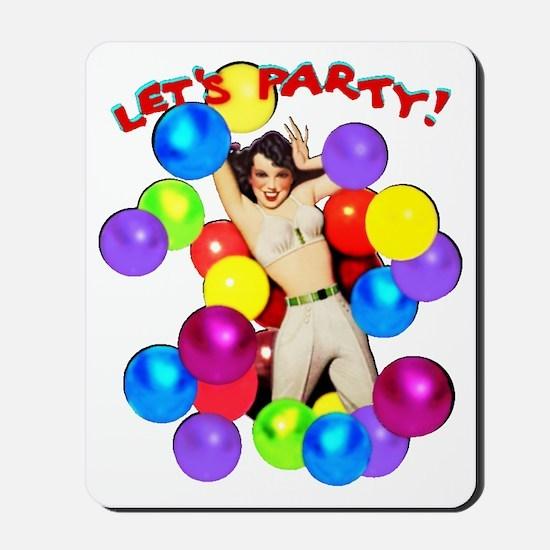 Let's PARTY! - Mousepad