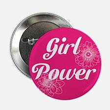 "Girl Power, 2.25"" Button (10 pack)"