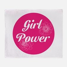 Girl Power, Throw Blanket