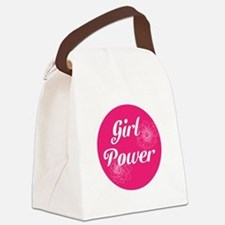 Girl Power, Canvas Lunch Bag