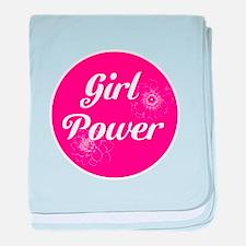 Girl Power, baby blanket