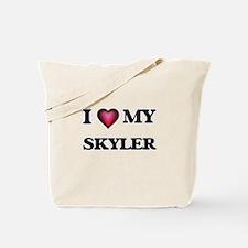 I love Skyler Tote Bag