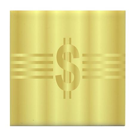 John Galt Dollar Emblem Tile Coaster
