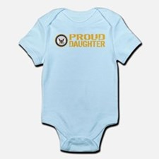 U.S. Navy: Proud Daughter Body Suit