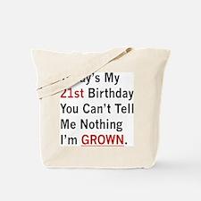 Im GROWN Tote Bag