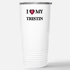 I love Tristin Travel Mug