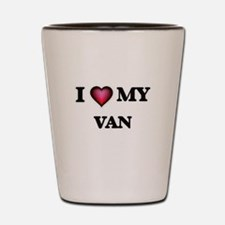 I love Van Shot Glass