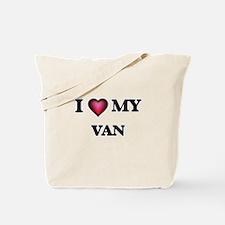 I love Van Tote Bag