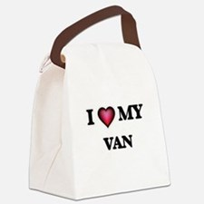 I love Van Canvas Lunch Bag
