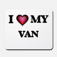 I love Van Mousepad