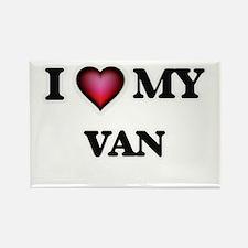 I love Van Magnets