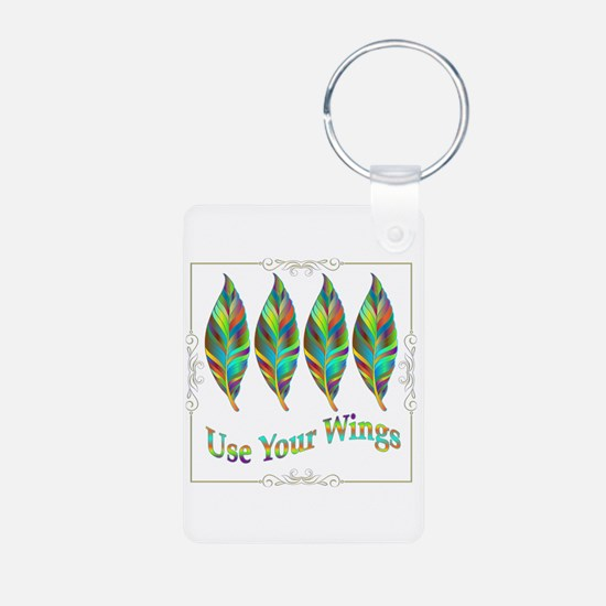 Use Your Wings Keychains