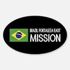 Brazil, Fortaleza East Mission (Fla Sticker (Oval)