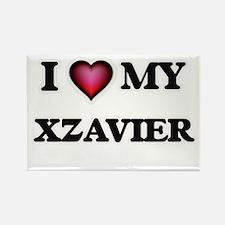 I love Xzavier Magnets