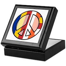 Buddhism Peace Symbol Keepsake Box