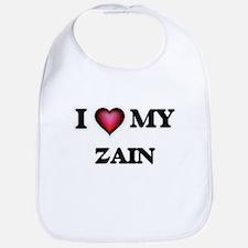 I love Zain Baby Bib