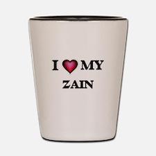 I love Zain Shot Glass