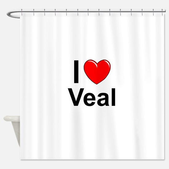 Veal Shower Curtain