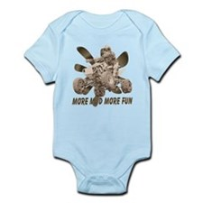 More Mud More Fun on an ATV Infant Bodysuit