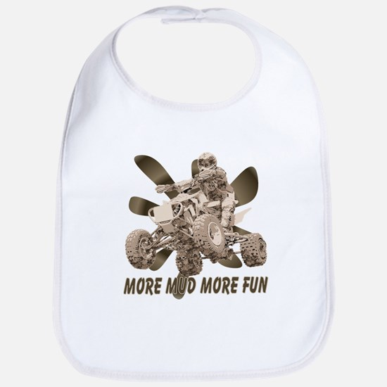 More Mud More Fun on an ATV Bib