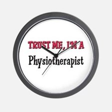 Trust Me I'm a Physiotherapist Wall Clock