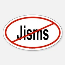 JISMS Oval Decal