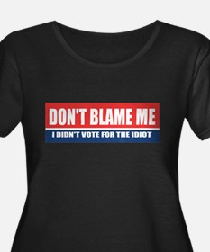 Dont Blame Me Plus Size T-Shirt