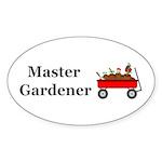 Master Gardener Sticker (Oval 10 pk)