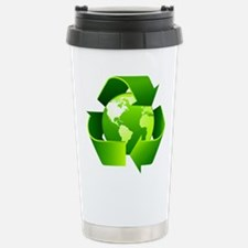 Recycle! Stainless Steel Travel Mug