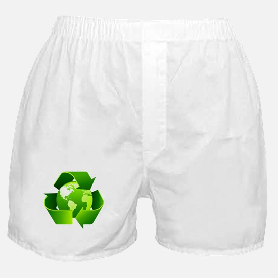 Recycle! Boxer Shorts
