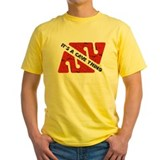 Cave diver Mens Yellow T-shirts