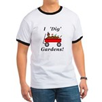 I Dig Gardens Ringer T
