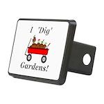 I Dig Gardens Rectangular Hitch Cover