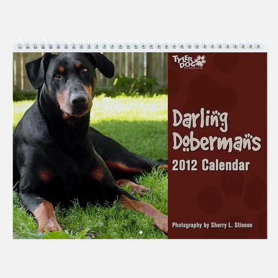 Doberman Pinscher Wall Calendar