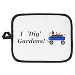I Dig Gardens Potholder