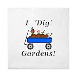 I Dig Gardens Queen Duvet