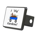 I Dig Gardens Rectangular Hitch Cover